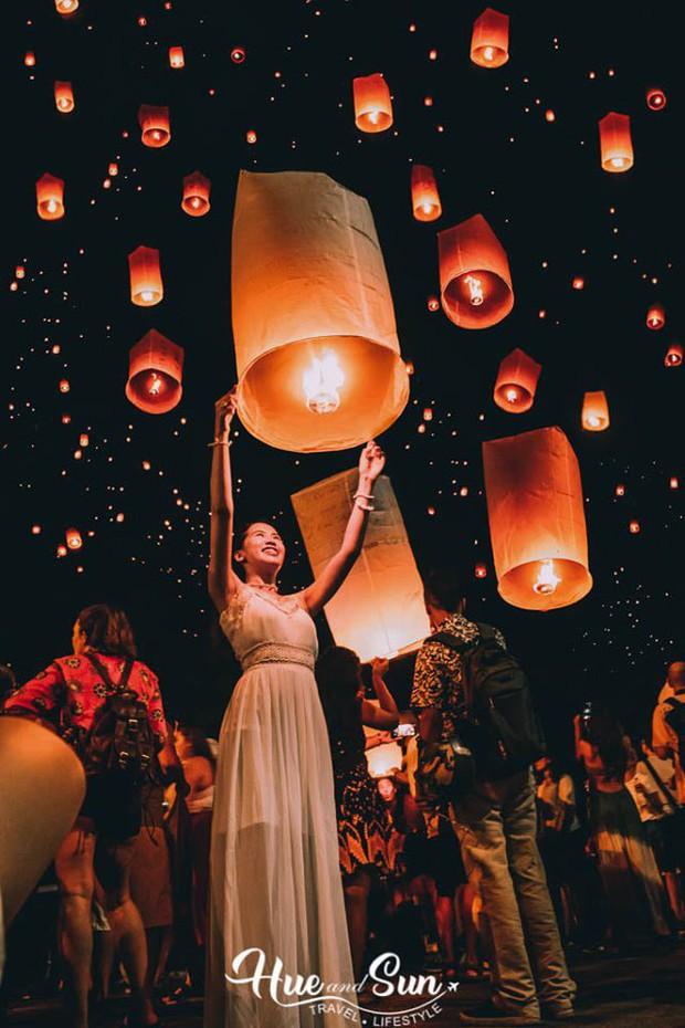 Trọn bộ cẩm nang đón Tết thả đèn ở Chiangmai (Thái Lan), đảm bảo vừa vui mà lại có cả tá hình xinh xắn - Ảnh 5.