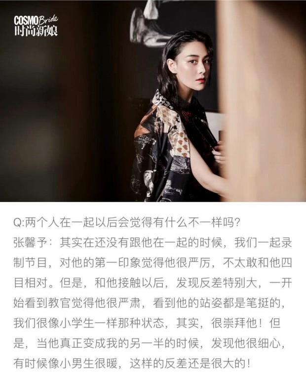 Trương Hinh Dư lần đầu nói về ông xã quân nhân: Từng sợ chồng đến mức không dám nhìn, vỡ lẽ vì tính cách thật - Ảnh 2.