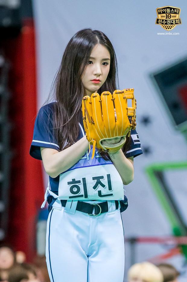 Không ngờ môn bóng chày tại đại hội thể thao Idol lại quy tụ toàn mỹ nhân Kpop! - Ảnh 9.