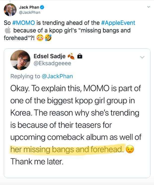 1 nữ idol Kpop bỗng hot đến mức vượt mặt iPhone lên top trend toàn cầu, đến ông trùm nổi tiếng phải tò mò hỏi là ai - Ảnh 5.