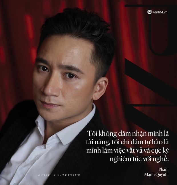"""Phan Mạnh Quỳnh: """"Nhạc của tôi giàu hình ảnh, vì tôi luôn mơ ước được làm phim - Ảnh 11."""
