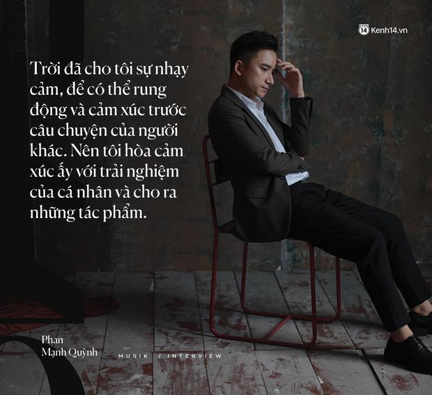 """Phan Mạnh Quỳnh: """"Nhạc của tôi giàu hình ảnh, vì tôi luôn mơ ước được làm phim - Ảnh 4."""