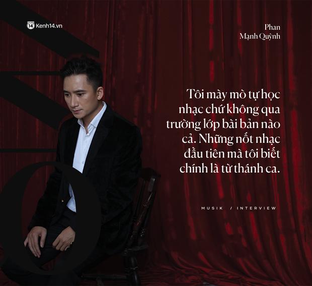"""Phan Mạnh Quỳnh: """"Nhạc của tôi giàu hình ảnh, vì tôi luôn mơ ước được làm phim - Ảnh 1."""