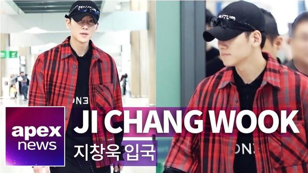 Ji Chang Wook đã trở về Hàn sau sự kiện náo loạn ở Việt Nam, cúi gằm mặt nhưng vẫn lộ biểu cảm gây chú ý - Ảnh 2.