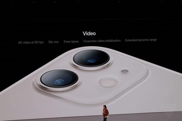 Bộ ba iPhone 11 chính thức đổ bộ: Màu xanh bóng đêm mới ngầu đét, mỗi tội camera trông hơi hài hước - Ảnh 3.
