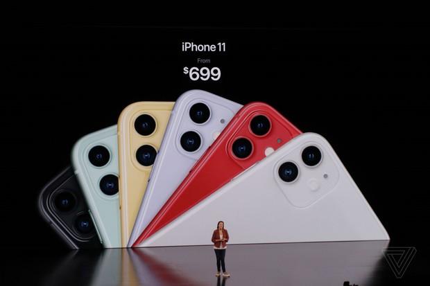 Bộ ba iPhone 11 chính thức đổ bộ: Màu xanh bóng đêm mới ngầu đét, mỗi tội camera trông hơi hài hước - Ảnh 1.