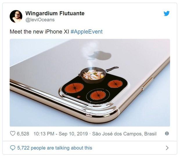 Vừa ra mắt, iPhone 11 đã bị chế nhạo là giống fidget spinner, quả dừa, bóng bowling, thậm chí là cả bếp từ - Ảnh 3.