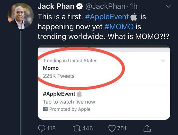 Momo (Twice) lần đầu hất mái liền lọt top 1 trending Twitter, thậm chí còn hot hơn cả sự kiện Apple ra mắt iPhone - Ảnh 4.