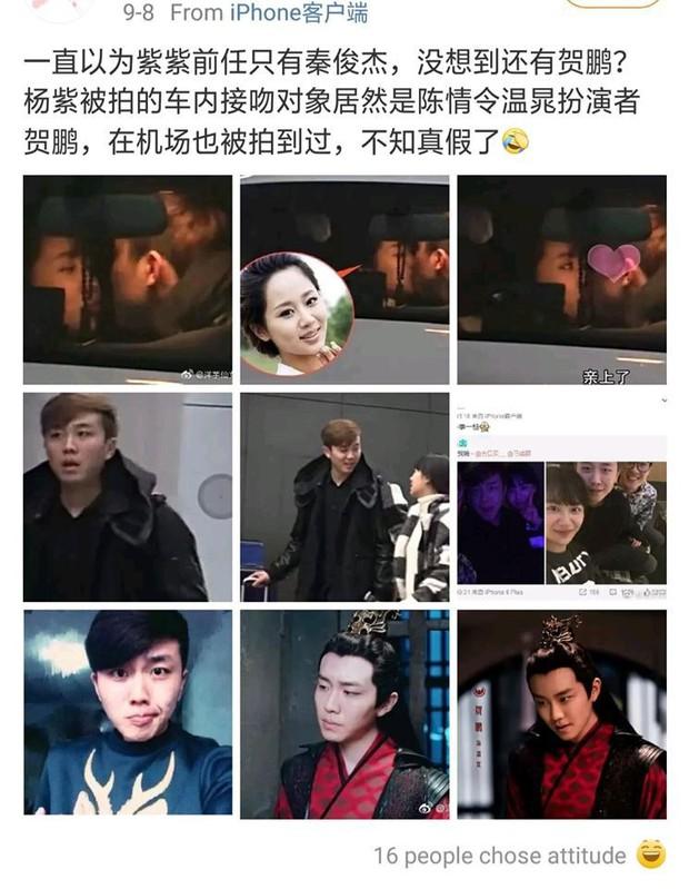 Hết dính phốt yêu sách chảnh chọe, Dương Tử lại bị cư dân mạng bới lại chuyện hẹn hò với nam diễn viên Trần Tình Lệnh - Ảnh 1.