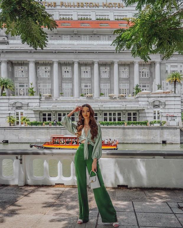 """Blogger bị vợ 2 Minh Nhựa """"mượn"""" ảnh: Style sang chảnh, quần áo chỉ mặc 1 lần rồi bán lại 1/2 giá - Ảnh 11."""