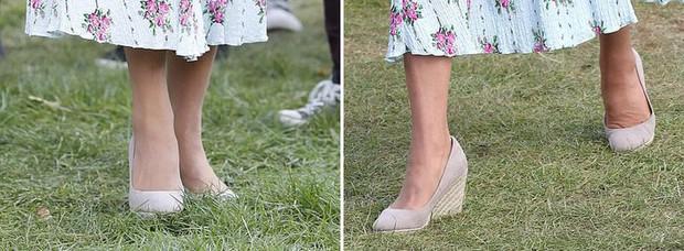 """Công nương Kate đi đôi giày mà Nữ hoàng Anh """"ghét cay ghét đắng"""" nhưng vẫn được dân tình bênh vực vì chăm tiết kiệm - Ảnh 3."""