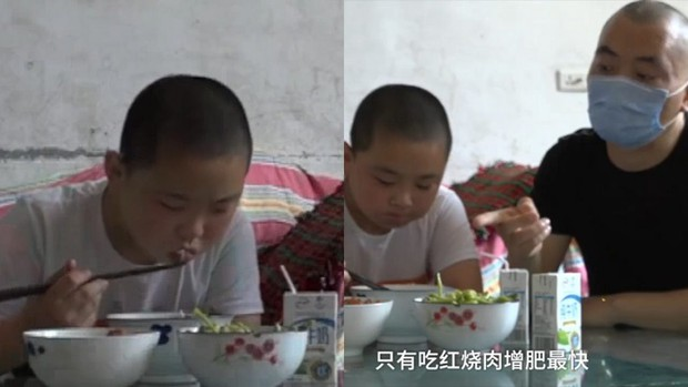 Tăng 18kg trong 3 tháng, cậu bé phấn đấu được béo phì chỉ để làm một việc khiến cả châu Á rơi nước mắt xúc động - Ảnh 3.