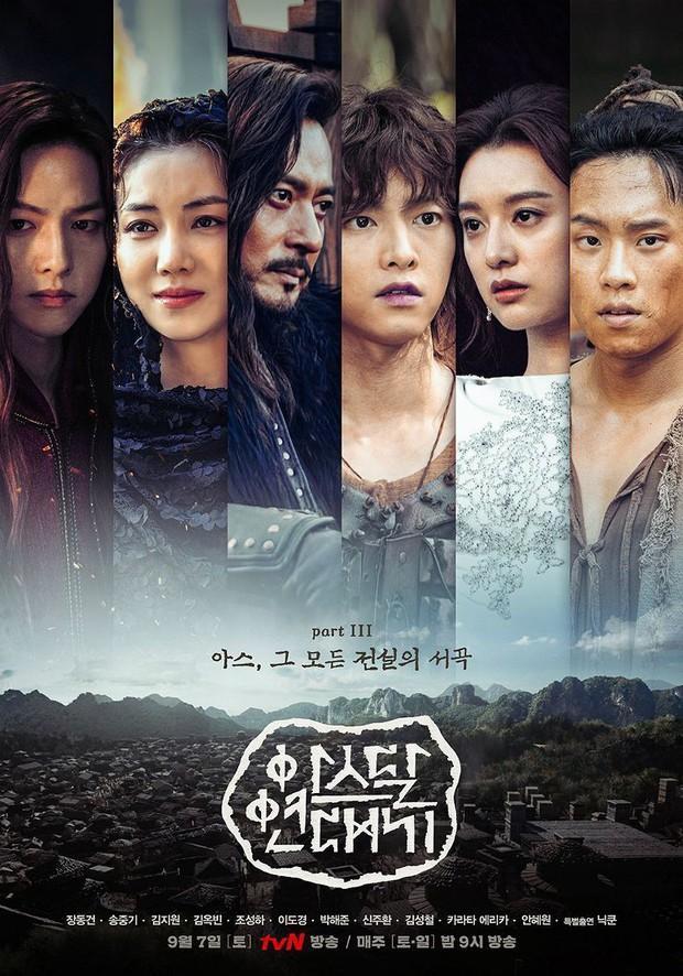 BXH diễn viên đang hot: Có bom tấn 700 tỉ, Song Joong Ki vẫn thua đậm trước đàn em mới vào nghề Ong Seung Woo? - Ảnh 6.