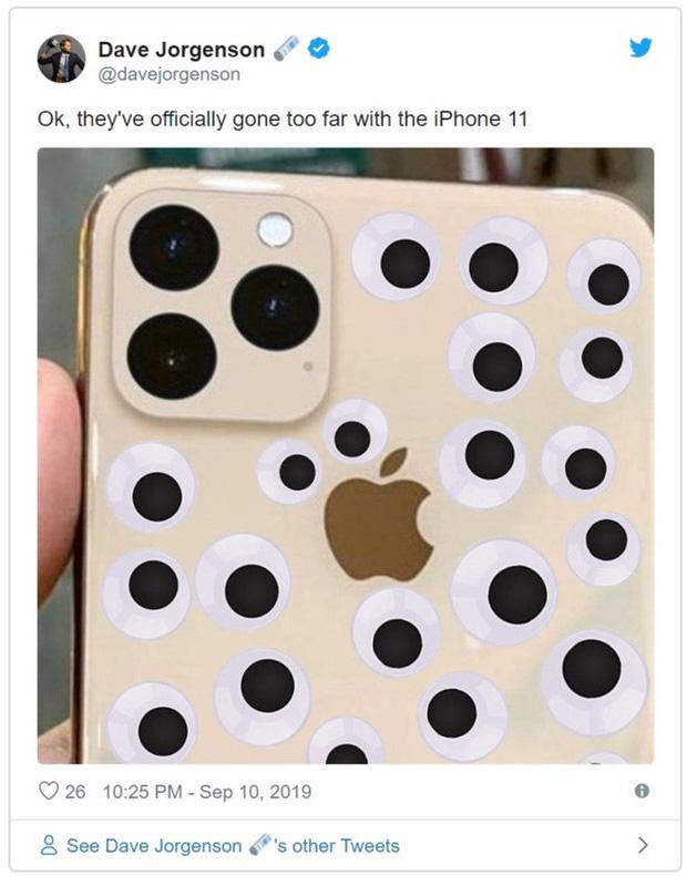 Vừa ra mắt, iPhone 11 đã bị chế nhạo là giống fidget spinner, quả dừa, bóng bowling, thậm chí là cả bếp từ - Ảnh 7.