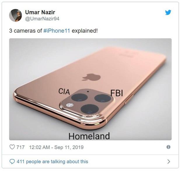 Vừa ra mắt, iPhone 11 đã bị chế nhạo là giống fidget spinner, quả dừa, bóng bowling, thậm chí là cả bếp từ - Ảnh 8.