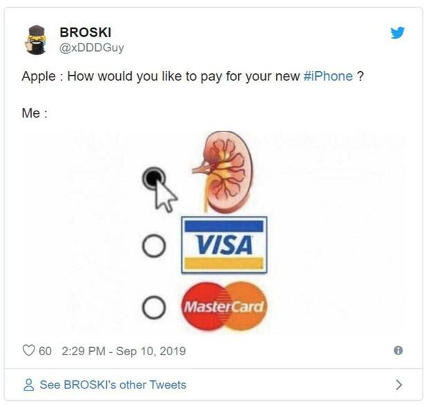 Vừa ra mắt, iPhone 11 đã bị chế nhạo là giống fidget spinner, quả dừa, bóng bowling, thậm chí là cả bếp từ - Ảnh 9.
