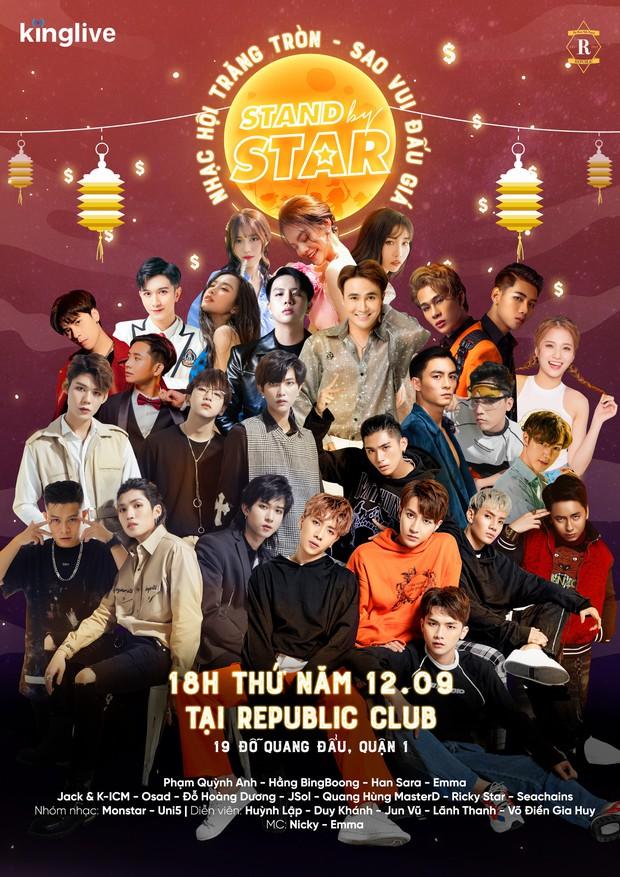 Jack và K-ICM, Phạm Quỳnh Anh, Jun Vũ, Han Sara cùng hơn 20 nghệ sĩ Việt đã sẵn sàng để đốt cháy Stand By Star! - Ảnh 2.