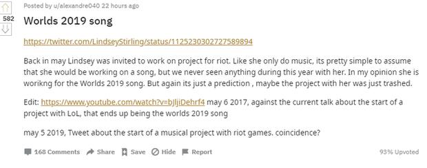 Nữ ca sĩ nổi tiếng Lindsey Stirling sẽ trình bày ca khúc chủ đề CKTG Liên Minh 2019, liệu sẽ có thêm tuyệt phẩm như Rise? - Ảnh 4.