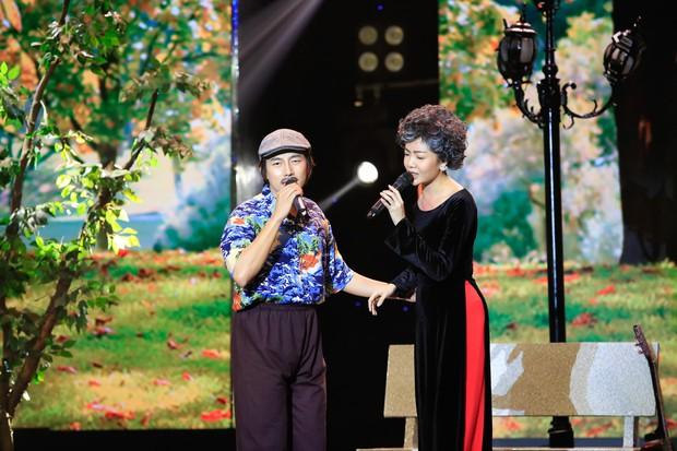 Cặp đôi vàng: Thiện Nhân khóc ngon lành trên sân khấu, khiến giám khảo rơi nước mắt theo - Ảnh 12.