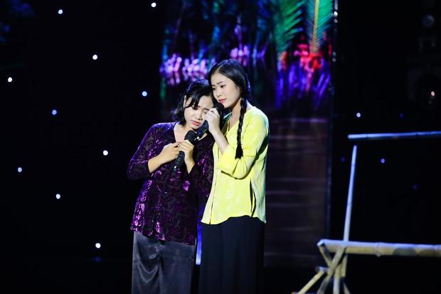 Cặp đôi vàng: Thiện Nhân khóc ngon lành trên sân khấu, khiến giám khảo rơi nước mắt theo - Ảnh 6.