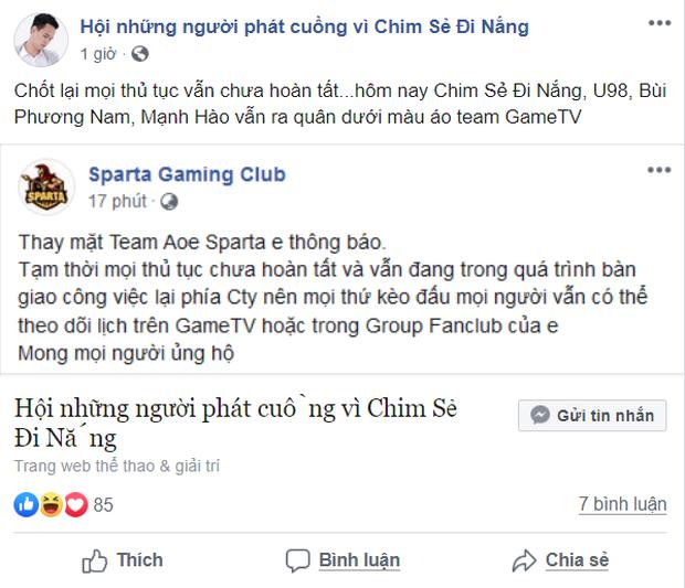Giữa tâm bão drama lớn nhất làng eSports Việt: Chim Sẻ Đi Nắng vẫn ra quân trong màu áo GameTV - Ảnh 2.
