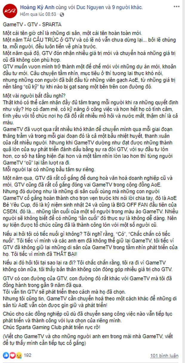 Giữa tâm bão drama lớn nhất làng eSports Việt: Chim Sẻ Đi Nắng vẫn ra quân trong màu áo GameTV - Ảnh 4.