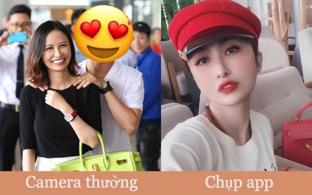 Mina Phạm - vợ 2 đại gia Minh Nhựa trong ảnh chụp cam thường vs lúc chỉnh qua 7749 cái app: Một người mà cứ tưởng là hai mẹ con không đó! - Ảnh 2.
