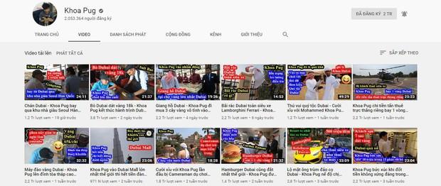 """Người ta làm YouTube kiếm tiền, còn Khoa Pug và Vũ Khắc Tiệp lại """"đốt"""" tiền lập kênh riêng để trở thành travel blogger! - Ảnh 2."""