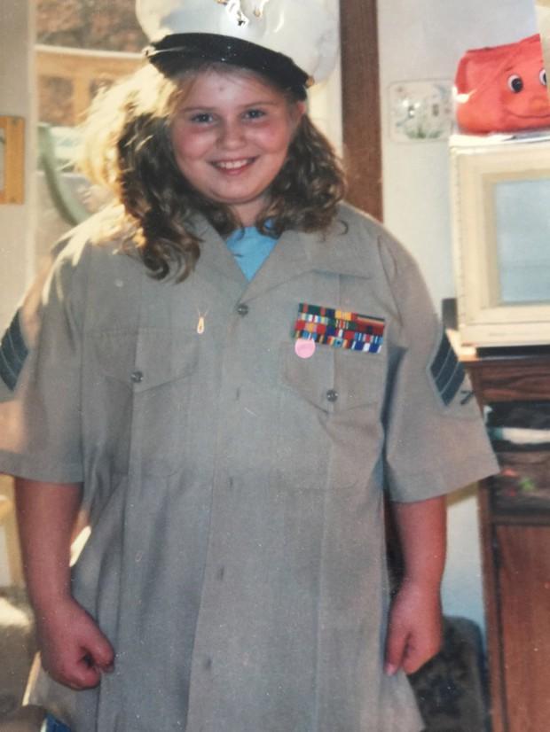 Cô gái người Mỹ giảm được 88kg nhờ nỗ lực làm những điều mà không phải ai cũng dám thử - Ảnh 1.