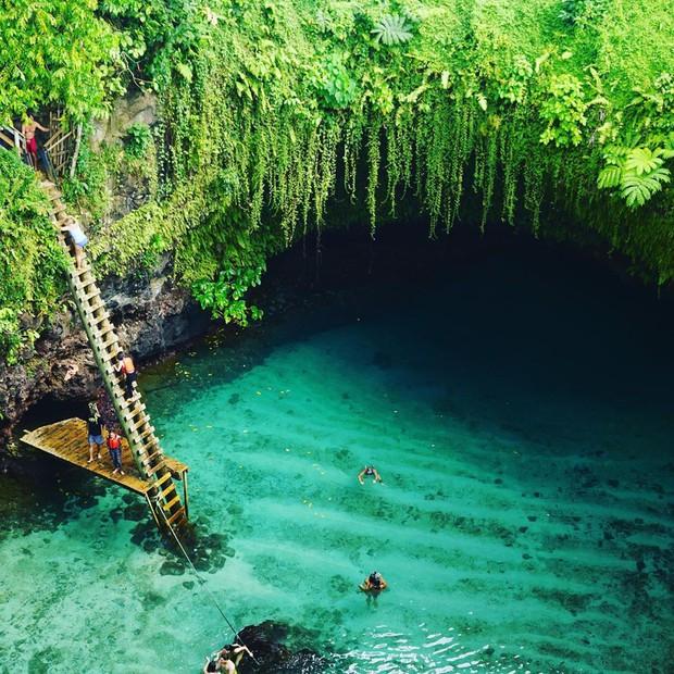 Hồ bơi tự nhiên đẹp nhất thế giới nằm ở quốc gia ít người biết nhưng ai đã đến một lần thì đảm bảo mê cả đời! - Ảnh 11.