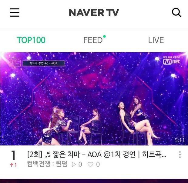 5 phút sexy nghẹt thở khi diễn lại hit cũ, AOA dễ dàng thâu tóm Top 1 trending Naver - Ảnh 6.
