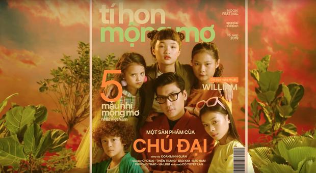 Chán sàn catwalk, Quang Đại cùng dàn siêu mẫu nhí lập thành nhóm nhạc, tung MV mới quẩy tưng bừng trong ngày Trung thu - Ảnh 2.