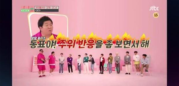 Loạt biểu cảm cute quá đà của cựu thí sinh Produce X 101 trước khi dính phốt thái độ với đàn anh! - Ảnh 2.