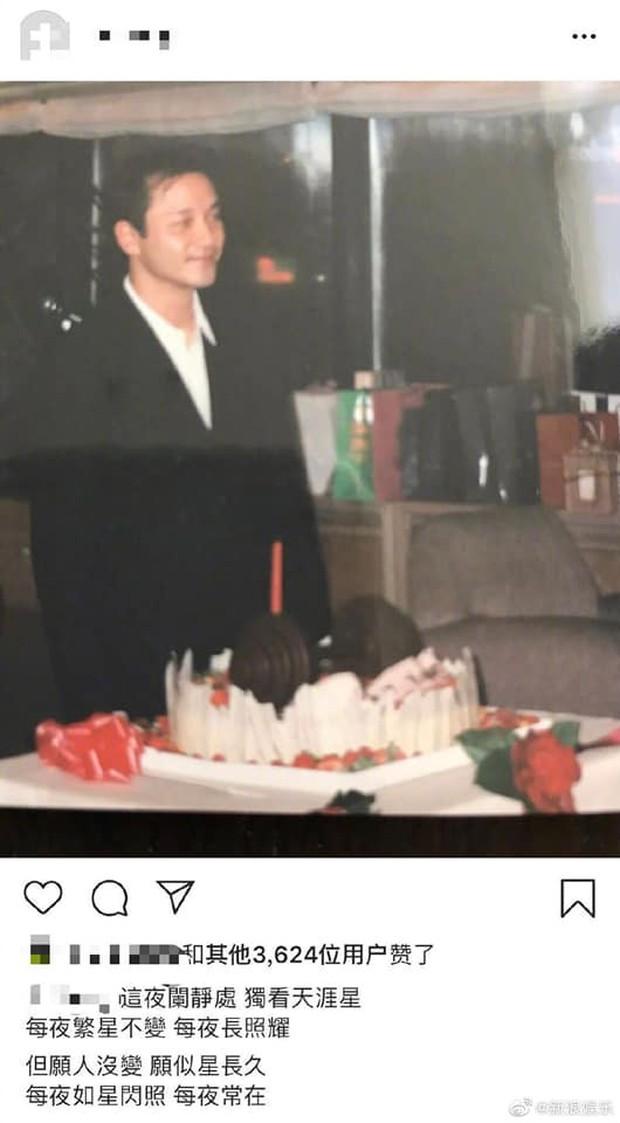 16 năm rồi, Đường Hạc Đức vẫn đúng 0h gửi lời chúc mừng sinh nhật tới Trương Quốc Vinh: Mong người mỗi đêm luôn ở đây - Ảnh 1.