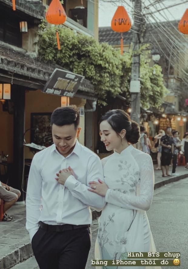 Mie Nguyễn bị nôn sấp mặt ở hậu trường chụp ảnh cưới, vẫn khiến dân tình xỉu lên xỉu xuống khi thấy thành quả cuối ngày - Ảnh 2.