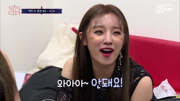 5 phút sexy nghẹt thở khi diễn lại hit cũ, AOA dễ dàng thâu tóm Top 1 trending Naver - Ảnh 5.