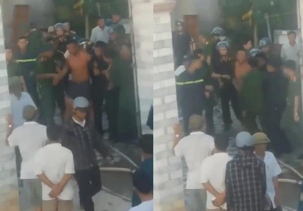 Nghệ An: Nam thanh niên ôm bình gas, mở van cố thủ trong nhà - Ảnh 1.