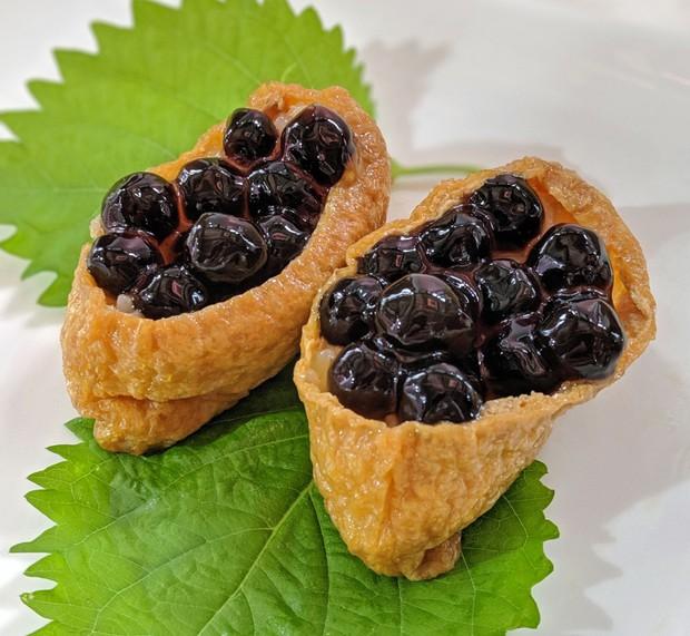 Hết cơm nấu trân châu đường đen, thánh Sato Nhật Bản lại thay trân trâu trong trà sữa bằng… trứng cá hồi - Ảnh 2.