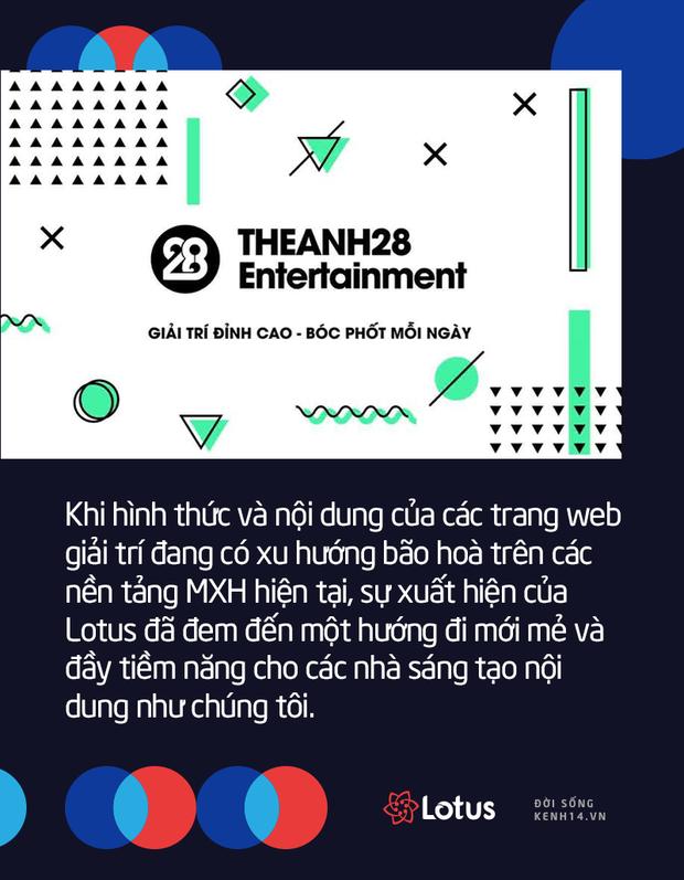 Các nhà sáng tạo nội dung đình đám như Foody, Welax, Kênh 28 Entertainment mong đợi gì ở MXH Lotus? - Ảnh 6.