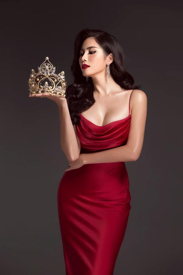 Từng khẳng định với Nam Trung mình không phải Hoa hậu mà giờ Hoàng Hạnh lại thi sắc đẹp ào ào - Ảnh 2.