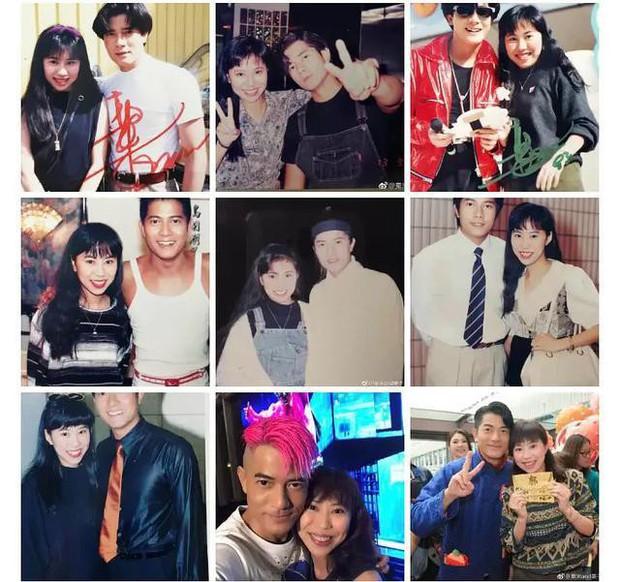 Tìm ra fan cuồng số 1 Hong Kong: Chụp ảnh với nửa showbiz, khiến hàng nghìn người ghen tị vì được Trương Quốc Vinh thân mật - Ảnh 8.