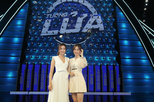 Dàn Hoa hậu khoe kiến thức trên gameshow: Người thì được khen, người lại gây tranh cãi - Ảnh 1.