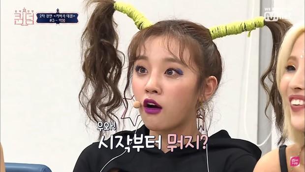Yuqi ((G)I-DLE) vô tình chiếm hết spotlight của đàn chị Park Bom chỉ vì... mái tóc cây dừa - Ảnh 4.