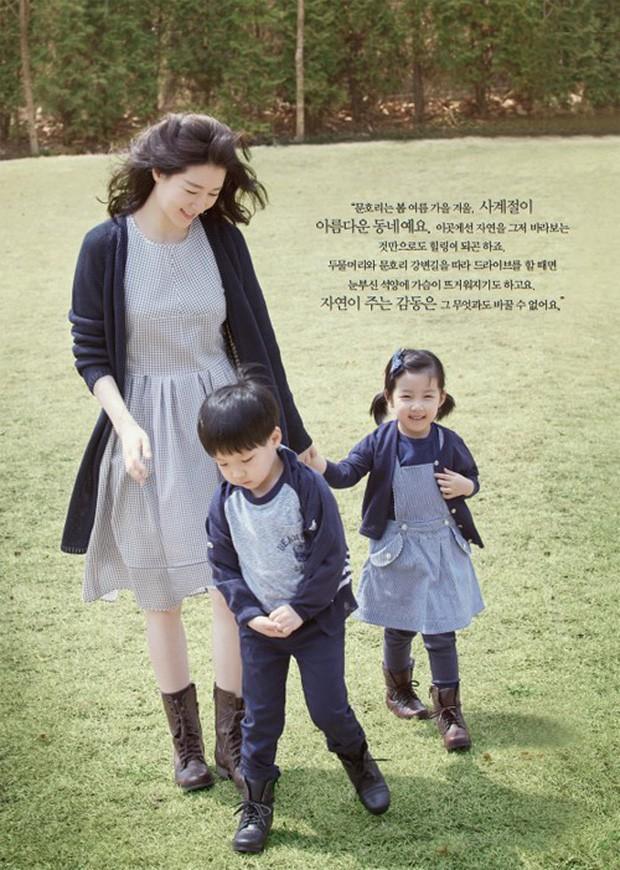 Quan điểm nuôi con đối lập của các ông bố bà mẹ nổi tiếng xứ Hàn Quốc: Người tích cực khoe con trên cả tạp chí, người giấu kín như bưng - Ảnh 3.