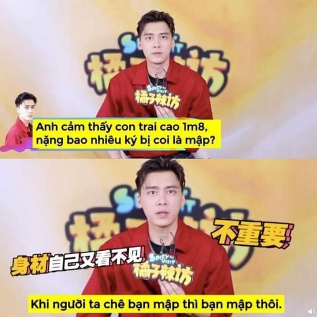Ngoài Vương Nhất Bác, mỹ nam Lý Dịch Phong cũng là một tay cà khịa bạn diễn chính hiệu: Họ chê mập thì là bạn mập thôi! - Ảnh 3.
