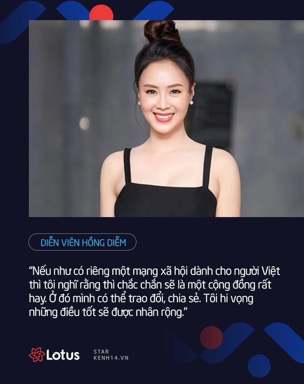 Dàn sao Việt nói gì trước thềm ra mắt MXH Lotus: HHen Niê muốn lan tỏa những điều tích cực, Chi Pu, Ninh Dương Lan Ngọc đặt niềm tin vào sản phẩm của người Việt - Ảnh 10.
