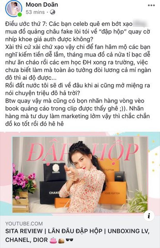 Nữ MC tố Sĩ Thanh đập hộp toàn hàng fake: từng bóc không trượt phát nào vài vụ khác, bao gồm cả vụ shop Changmakeup bán mỹ phẩm dỏm - Ảnh 2.