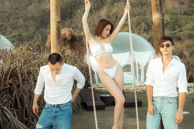 Bỏ qua các bức ảnh nude gây sốc, chuyến đi Bali của Ngọc Trinh cũng cho ra đời kha khá kiểu tạo dáng bikini độc - đẹp để chị em tham khảo nè! - Ảnh 2.