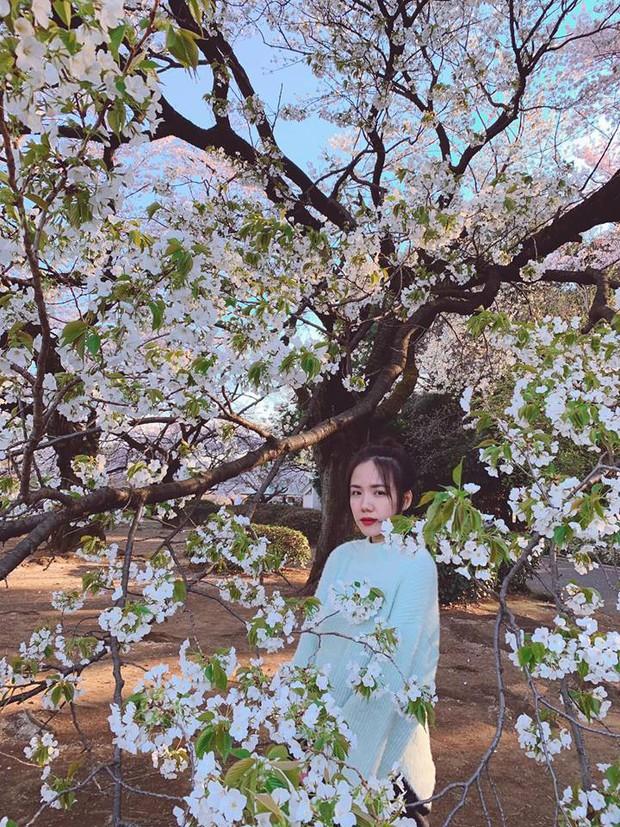 """Còn gì khổ hơn: Chụp ảnh với hoa anh đào khi đi Nhật, Phương Ly """"hoá điên"""" luôn vì background dính quá nhiều người! - Ảnh 8."""