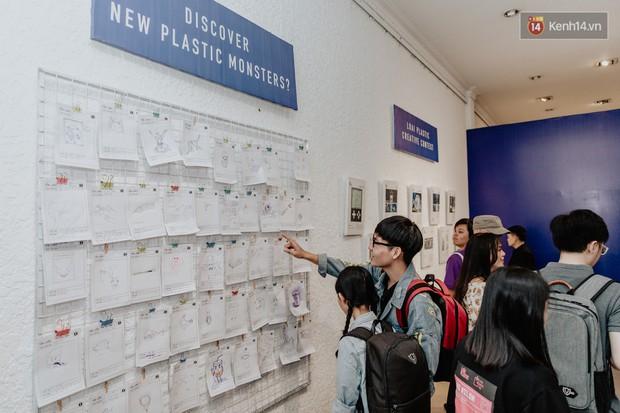 Giới trẻ Sài Gòn mãn nhãn với hàng loạt tác phẩm 3D tại triển lãm Loài Plastic: Lâu lắm rồi mới có một dự án bảo vệ môi trường thú vị như thế này! - Ảnh 4.